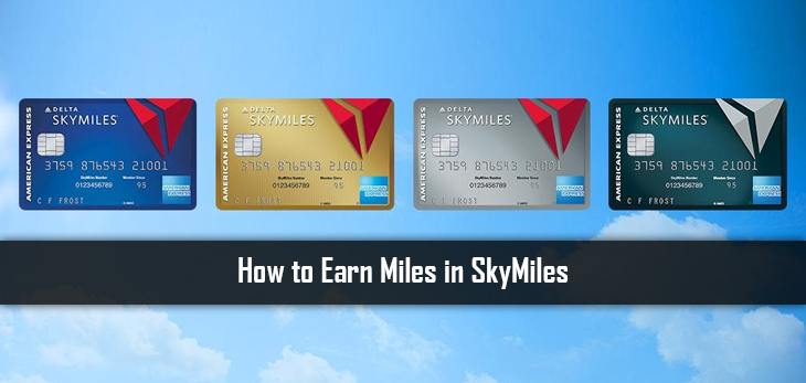 How to Earn Miles in SkyMiles
